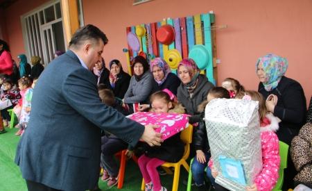 Çocuklar Dilek Tuttu, Başkan Gerçekleştirdi