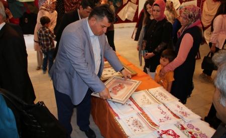 Halk Eğitim Merkezi Yıl Sonu Sergisi Açıldı